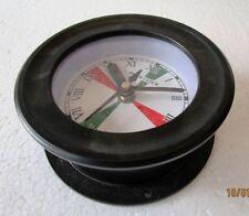 SHIP'S Clock – Marine RADIO ROOM Clock – ROMAN - BOAT / NAUTICAL (5011B)