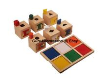 New Montessori Material Practical Life - Peekaboo Lock Boxes Set