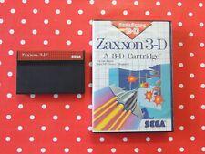 Zaxxon 3-D Sega Master System in OVP