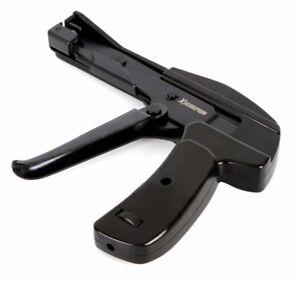 Heavy Duty Metal Cable Zip Tie Gun Lightweight Durable Fastening Cutting Tool