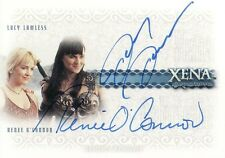 Xena Beauty & Brawn Lucy Lawless & Rene O'Connor DA1 Dual Auto Card