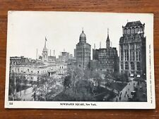 Postcard Newspaper Square, New York City Private Mailing Card Never Mailed