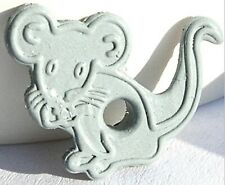 """Gray MOUSE 1/8"""" QUICKLETS Eyelets Pets Rodent Scrapbooking Card Making Stamping"""