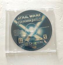 Star Wars: Episode I: Jedi Power Battles (Sega Dreamcast, 2000) Disc Only