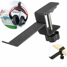 Headphone Hanger Headset Hook Holder Stand Gaming Steel Earphone Clamp On Desk