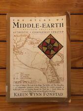 The Atlas Of Middle Earth Revised Ed. - Karen Wynn Finstad 1991 Ex-Lib Paperback