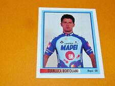 N°107 G. BORTOLAMI MAPEI MERLIN GIRO D'ITALIA CICLISMO 1995 CYCLISME PANINI TOUR