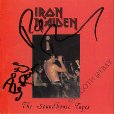 IRON MAIDEN The Soundhouse Tapes PAUL DI'ANNO Doug Sampson Troy Autograph SIGNED