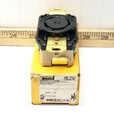 NEW HUBBELL TWIST LOCK RECEPTACLE 30A 3PH 600VAC 3P 4W GROUNDING HBL2740