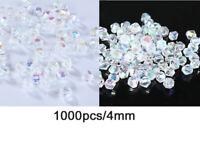 1000pcs/4mm Crystal Bicone Loose beads 5301 DIY Jewelry making