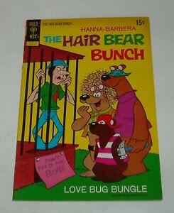HANNA BARBERA The HAIR BEAR BUNCH # 3 GOLD KEY COMICS 1972 WESTERN FILE COPY