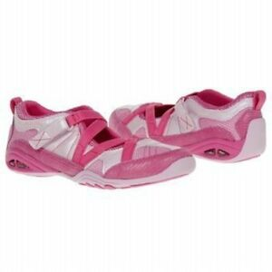New STRIDE RITE Athletic Mary Jane Shoes Kerri Pink 7 M