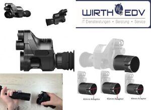 PARD NV007A Nachtsichtgerät 16mm Linse BRD-Version 850nm Gen. 2 inkl. 45mm Adap.