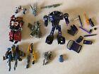 Transformers Toy Lot For Parts/ Alternators Shockblast/ Generations Perceptor.