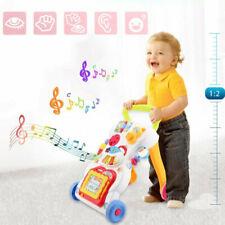 Gehrei Babywalker Lauflernwagen Kleinkind Laulernhilfe+Musik+Zeichenbrett NEU