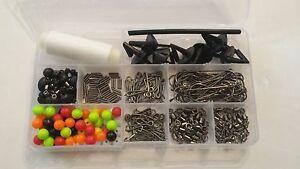 333 piece sea fishing rig making kit with storage box