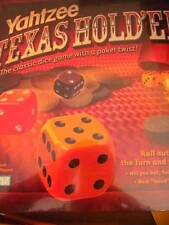 Yahtzee Texas Hold'em Dice Poker Game Sealed Hasbro 8+ Straight Flush Fast Ship