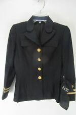 """Vintage US Navy Military Coat 21"""" Arm 13"""" Chest Womens"""