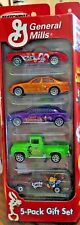 General Mills Matchbox 5 Original 2002 Cool Vehicles Rare Trix, Lucky Charms