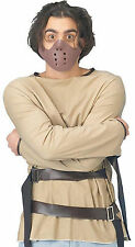 Hannibal Lector Straight Jacket & MASK Silence of the Lambs Fancy Dress Costume