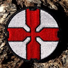ZOMBIE HUNTER TACTICAL: STARSHIP TROOPERS MEDIC MIL-SPEC RED CROSS PATCH IRON-ON
