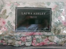 Laura Ashley Standard Pillow Sham Cottage Rose Made In the USA