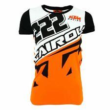 Tony Cairoli 222 Moto Cross Racing KTM Women's Panel T-shirt Official New