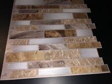 Peel&Stick Backsplash Mosaics Vinyl Self Adhesive 10 Sheets. Mountain Terrain