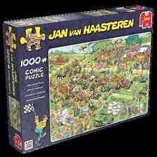 Rasenmäherrennen - Jan van Haasteren Puzzle Jumbo 19021 1000 Teile NEU OVP