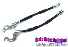 FRONT BRAKE HOSES Ford Galaxie 1967 Early, Before 10-15-1966, Disc