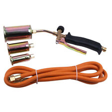Portable Propane Weed Torch Burner Fire Starter Ice Melter 3 Nozzles 79 Hose