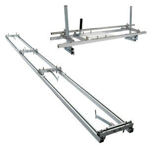 """14""""-36"""" Chainsaw Mill and Milling Rail System Aluminum Rail Mill Guide System"""