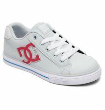 Tg 32 - Scarpe Bimba Bambina DC Chelsea Grey Pink Grigio Rosa Sneakers Schuhe