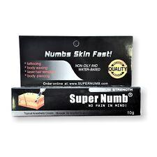 SuperNumb Anesthetic Skin Numbing Cream 30g