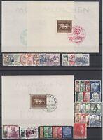 CP7491/ GERMANY REICH – 1934 / 1938 USED SEMI MODERN LOT – CV 230 $