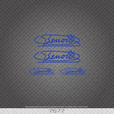 Benotto Signature in Blue -  Bicycle Sticker - Decal - Transfer - 7577