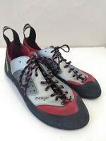 LA Sportiva Nago XSEDGE Sliver Red Rock Climbing Shoes Climbing Mens 9 Womens 10