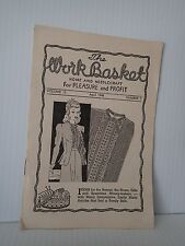 The Workbasket Magazine 1 issue April 1948 Volume 13 Number 7