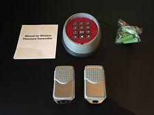 Neco Control Wireless keypad & 2 remotes -Rolling code (compatible MK1 Receiver)