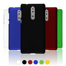 Hardcase für  Nokia 8 Hülle  gummiert + 2 Schutzfolien