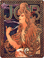 Alphonse Alfons Mucha Art Nouveau Deco Job Cigarette Papers Picture Giclee Print