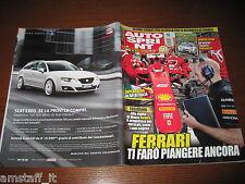 AUTOSPRINT 2011/36=VOLVO V6 D5=RALLY SPRINT=TEST SUZUKI SWIFT GR.R=
