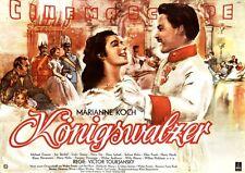 King Waltz original DIN a0 CINEMA POSTER ROLLED Marianne Koch/Joe Flat Box