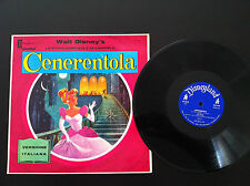Walt Disney CENERENTOLA Versione Italiana LP 33 RARITA' vintage CINDERELLA