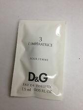 L'Imperatrice No. 3 Dolce & Gabbana 10x Spray Vials Eau de Toilette 0.05 fl oz