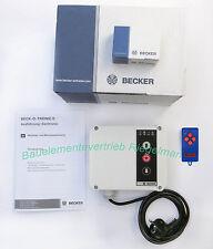 Becker Funktorsteuerung Beck-o-Tronic 6 mit 40,685 MHz  u. 1 Handsender 4 Kanal