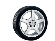 NUOVO Cerchio in Lega ORIGINALE Mercedes AMG, 18 Pollici, Classe C-CLC-CLK-E-SLK