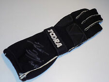 Thomas Biagi Toora used glove signed