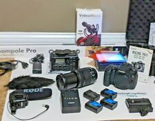 * Canon EOS 70D 20.2MP DSLR Camera Kit w/ EF-S IS STM 18-135mm BUNDLE *