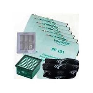 Set Farfalla 6 Sacchetti Folletto Vorwerk +2 Filtri Odori +1 Microfiltro+6Dovina
